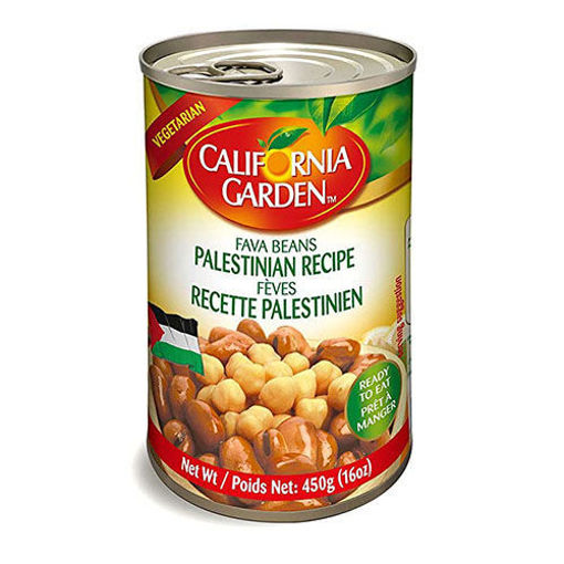CALIFORNIA GARDEN Fava Beans Palestinian Recipe 450g resmi