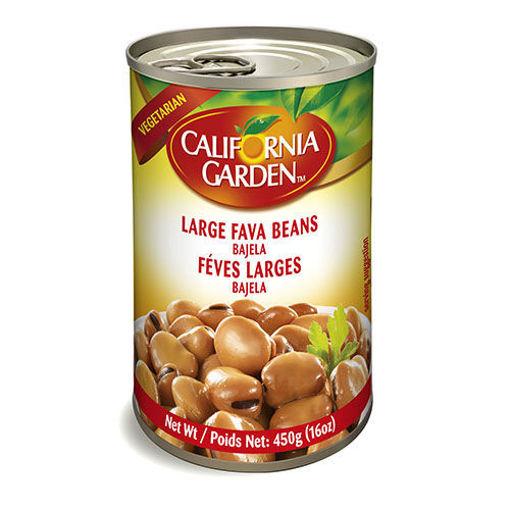 CALIFORNIA GARDEN Large Broad Beans (Bajela) 450g resmi