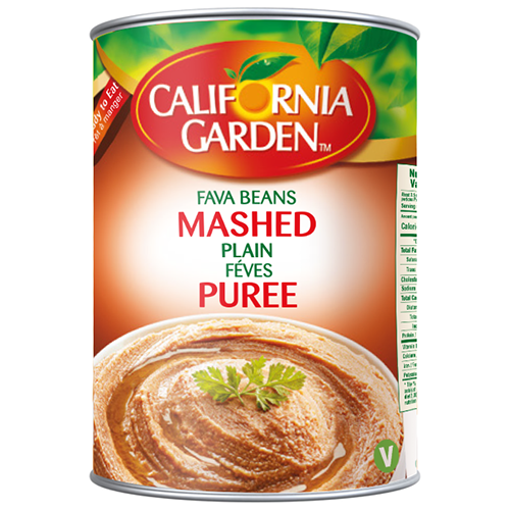 CALIFORNIA GARDEN Mashed Fava Beans Puree 450g resmi