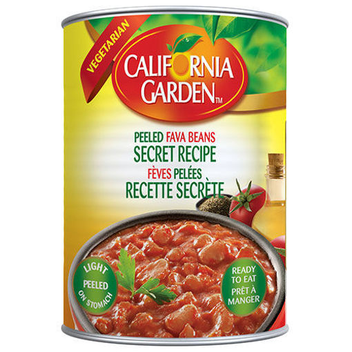 CALIFORNIA GARDEN Secret Recipe Peeled Fava Beans 450g resmi