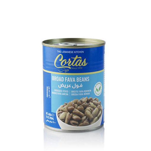 CORTAS Broad Fava Beans 400g resmi