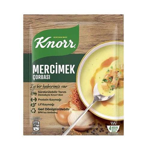 KNORR Lentil Soup 70g resmi