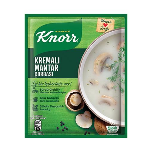 KNORR Cream of Mushroom Soup 70g resmi