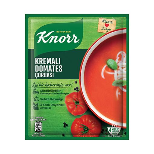 KNORR Tomato Soup w/Cream 70g resmi
