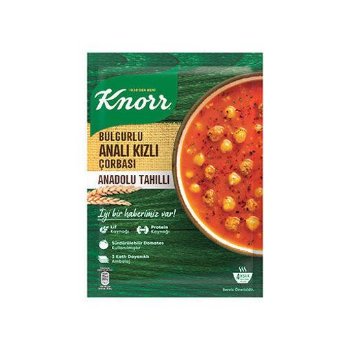 KNORR Traditional Anali Kizli Soup w/Bulgur 100g resmi