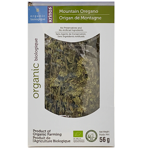 KRINOS Organic Mountain Oregano 56g resmi