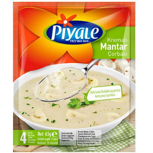 PIYALE Cream of Mushroom Soup 65g resmi