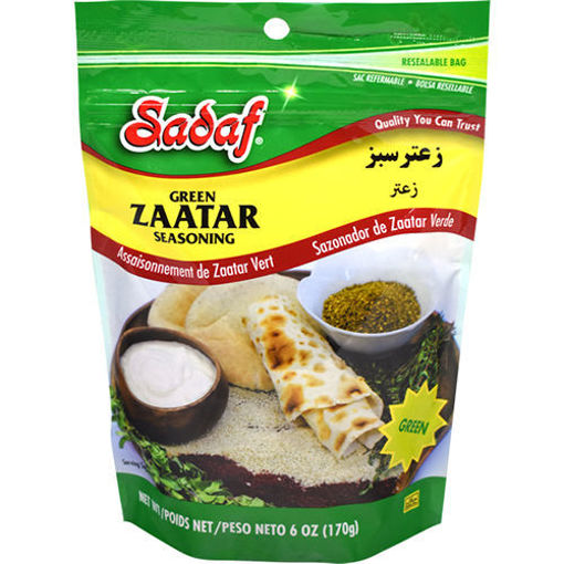 SADAF Green Zaatar Mix 170g resmi