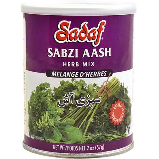 SADAF Sabzi Aash (Dried Herbs Mix) 56g resmi