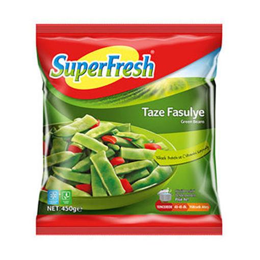 SUPERFRESH Green Beans (Taze Fasulye) 450g resmi