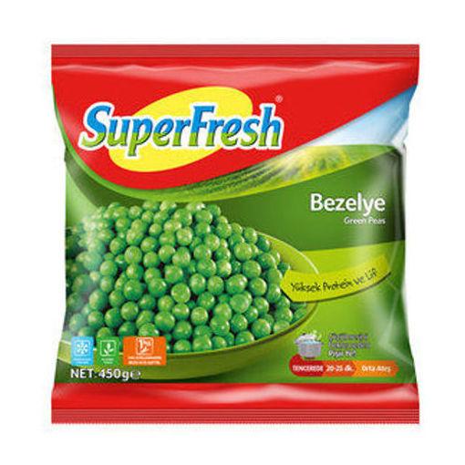 SUPERFRESH Green Peas (Bezelye) 450g resmi