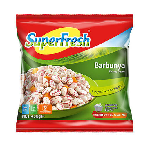 SUPERFRESH Kidney Beans (Barbunya) 450g resmi