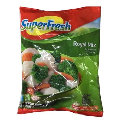SUPERFRESH Royal Mix (Kis Sebzeleri) 450g resmi