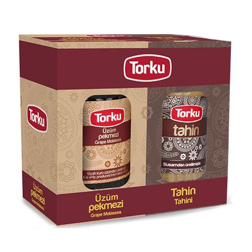 TORKU Tahini and Grape Molasses (Twin Package) 750g resmi