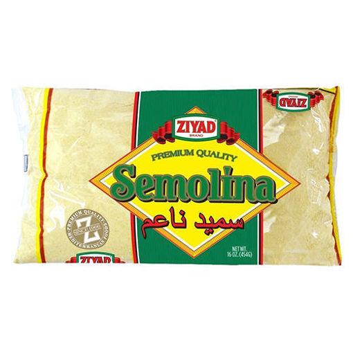 ZIYAD Semolina Wheat Smeed 454g resmi