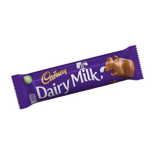 CADBURY Dairy Milk Chocolate Bar 45g resmi
