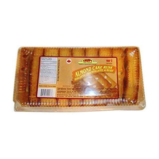 CRISPY Almond Cake Rusk 750g resmi