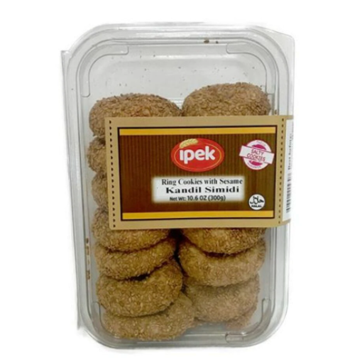 IPEK Ring Cookies w/Sesame (Kandil Simidi) 300g resmi