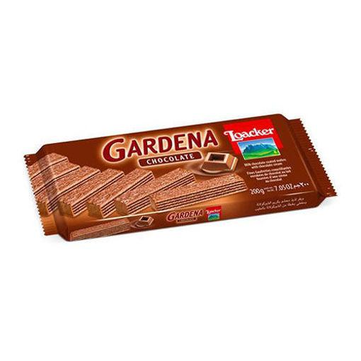 LOACKER Wafers Gardena w/Chocolate 175g resmi
