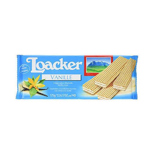 LOACKER Wafers w/Vanilla 175g resmi
