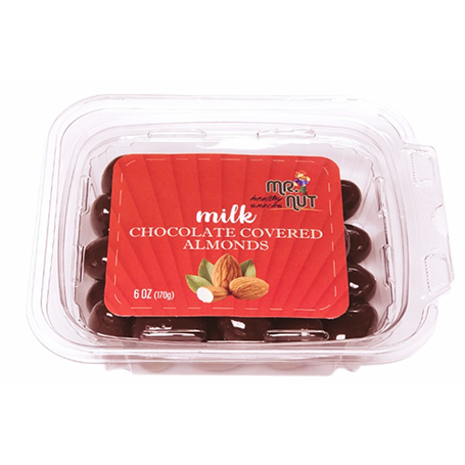 MR.NUT Milk Chocolate Covered Almonds 170g resmi