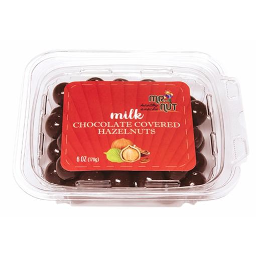 MR.NUT Milk Chocolate Covered Hazelnuts 170g resmi