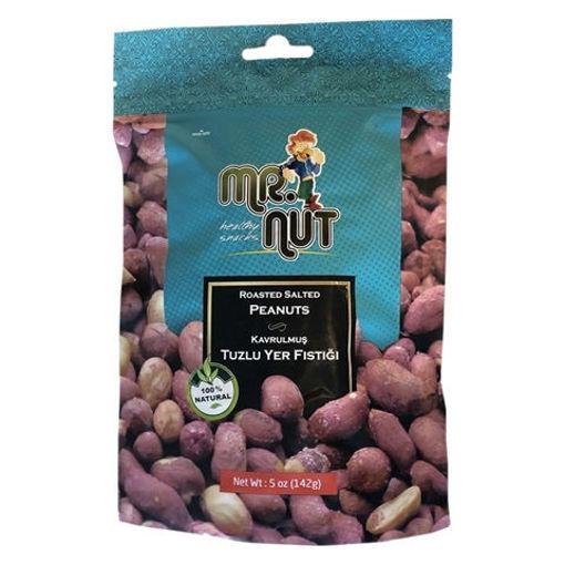 MR.NUT Roasted Salted Peanuts 142g resmi