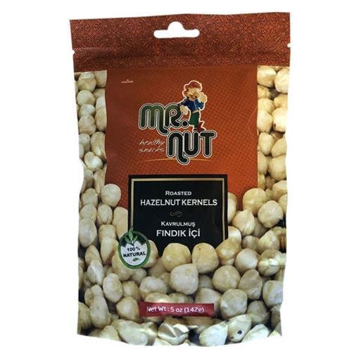 MR.NUT Turkish Roasted Hazelnut Kernels 142g resmi