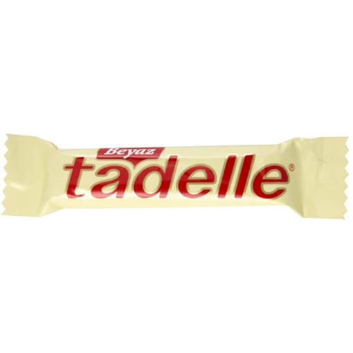 TADELLE White Chocolate w/Hazelnut 30g resmi