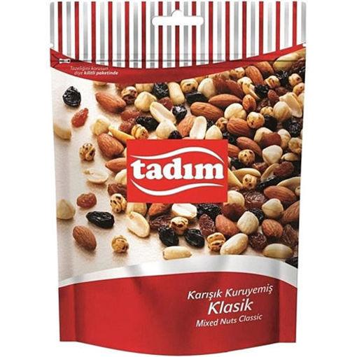 TADIM Roasted Mixed Nuts w/Raisins 190g resmi