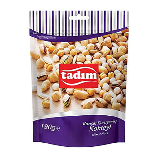 TADIM Roasted Salted Mixed Nuts 190g resmi
