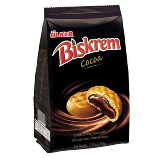 ULKER Biskrem w/Cocoa 205g resmi