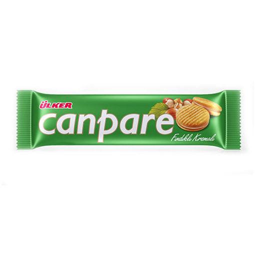 ULKER Canpare Biscuit w/Hazelnut 81g resmi
