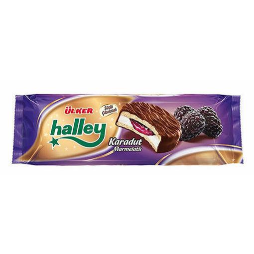 ULKER Halley Biscuit w/Black Mulberry 10pc 235g resmi