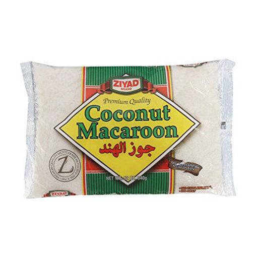 ZIYAD Macaroon Coconut 340g resmi