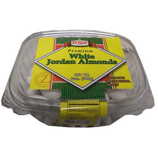 ZIYAD Premium White Jordan Almonds 340g resmi