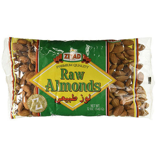 ZIYAD Raw Almonds 340g resmi
