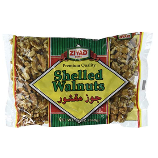 ZIYAD Shelled Walnuts 340g resmi