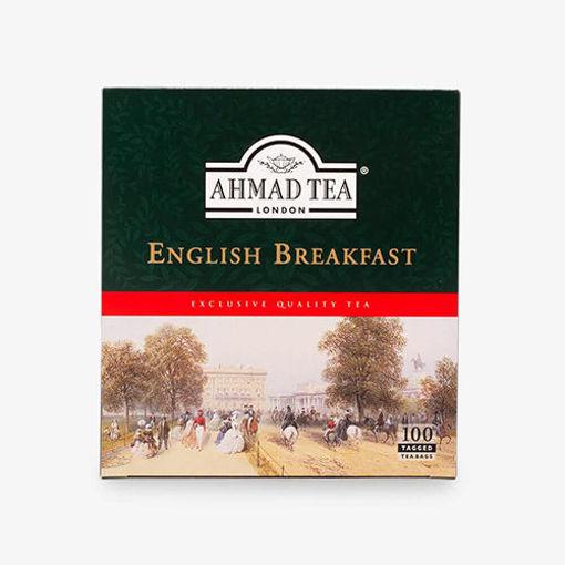 AHMAD TEA English Breakfast Blend Tea (100 Tea Bags) 200g resmi