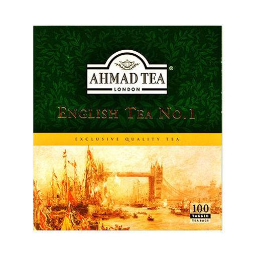 AHMAD TEA English Tea No.1 (100 Tea Bags) 200g resmi