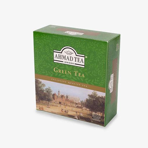 AHMAD TEA Green Tea (100 Tea Bags) 200g resmi