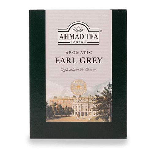 AHMAD TEA London Aromatic Earl Grey Tea 454g resmi