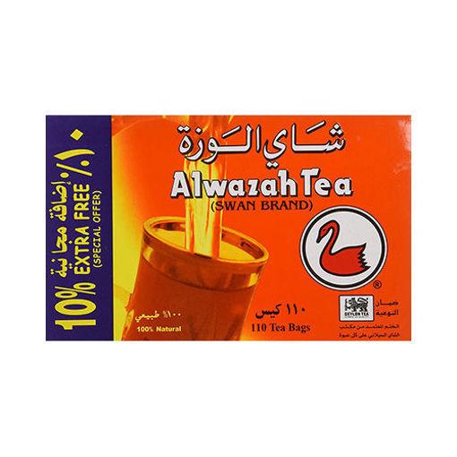 ALWAZAH TEA (Swan Brand) 110 Tea Bags resmi