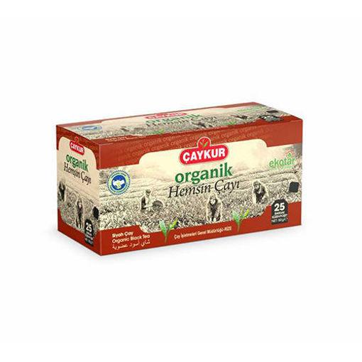 CAYKUR Hemsin Organic Black Tea Bags 50g resmi