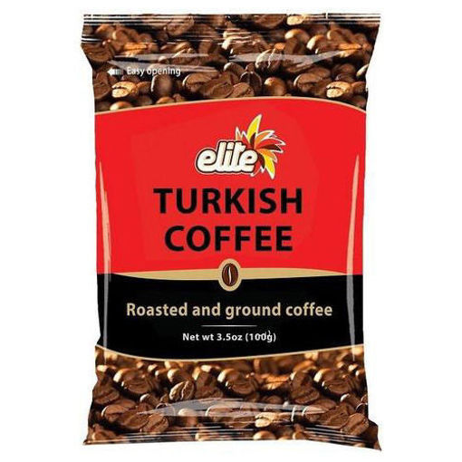 ELITE Turkish Coffee Bag 100g resmi