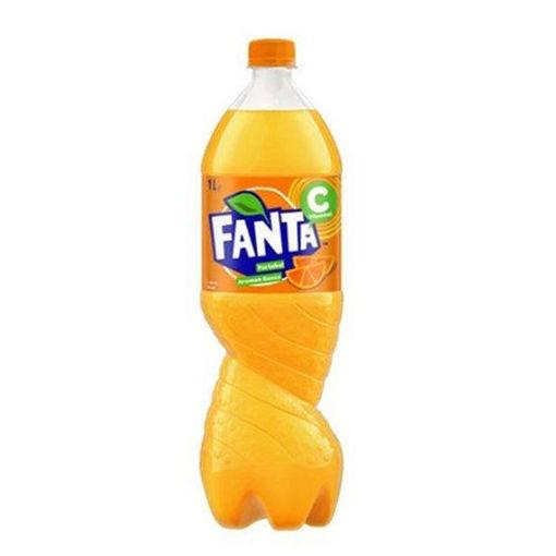 FANTA Orange Soda 1L resmi