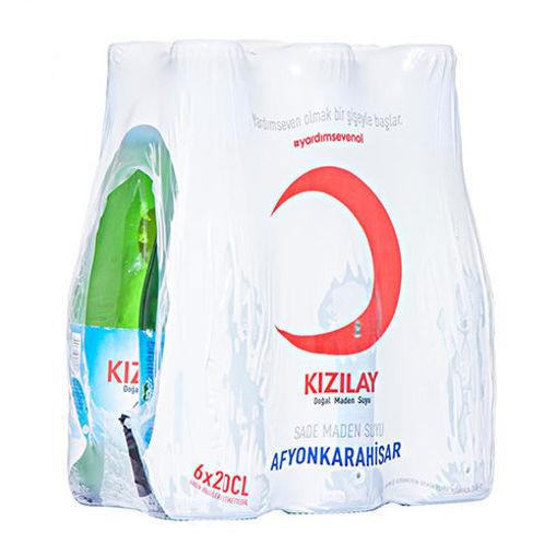 KIZILAY Natural Mineral Water 6 x 200 ml resmi