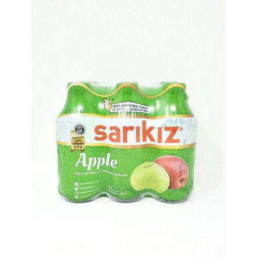 SARIKIZ Apple Flavored Mineral Water 6 x 200ml resmi