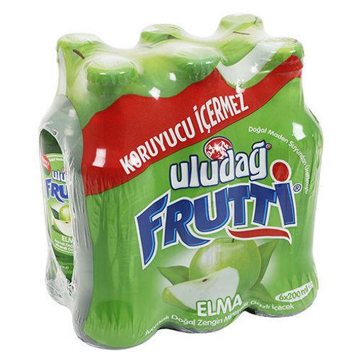 ULUDAG Frutti Apple Flavored Mineral Water 6 x 200ml resmi