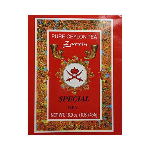 ZARRIN Pure Ceylon Tea ''Special Opa'' Red Box 454g resmi
